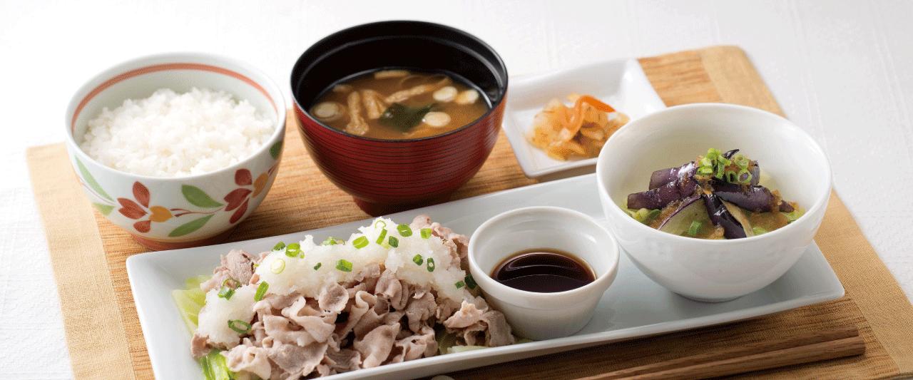 豚しゃぶ膳(選べる小鉢つき)